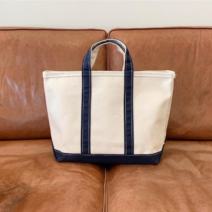 Anatomica Boat & Tote Bag Small Navy