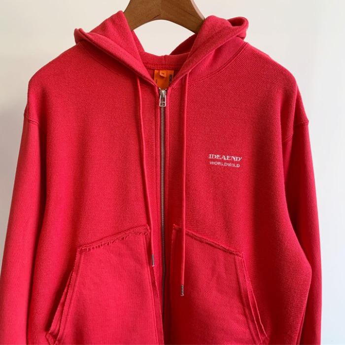 IDEAEND Puzzle Parka Red