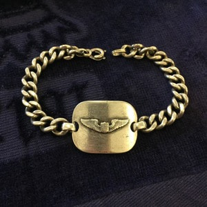 WWII Military Sterling Bracelet