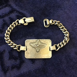 WW2 US Army Air Corps Sweetheart Bracelet