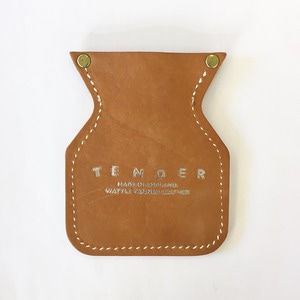 Tender Co Fishtail Coin Purse Tan