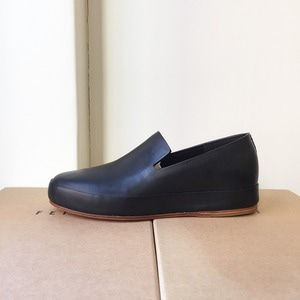 FEIT Hand Sewn Slipper Black