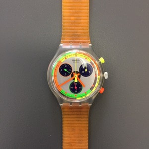 1990's Swatch Chronograph Wristwatch Deadstock (45)