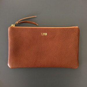 LBB Pouch Brown
