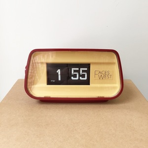 Mid Century RICOH Faces West Flip Clock