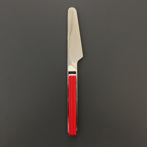 Mikasa Studio Nova Chromatics Red Stainless Steel Dinner knive (Deadstock)
