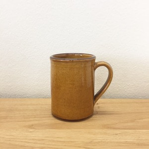 Tender & Co. Coffee Mug Amber Glazed Red Clay