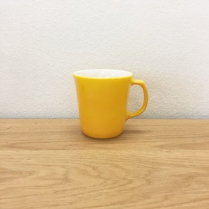 1950's Pyerx Yellow Coffee Mug Cups