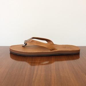 Phigvel Leather Beach Sandal Camel