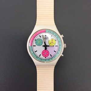 1990's Swatch Chronograph Wristwatch Deadstock (39)