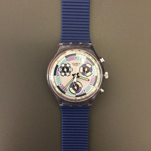 1990's Swatch Chronograph Wristwatch Deadstock (29)