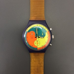 1990's Swatch Chronograph Wristwatch Deadstock (40)