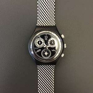 1990's Swatch Chronograph Wristwatch Deadstock (34)