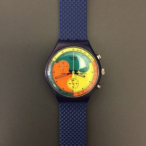 1990's Swatch Chronograph Wristwatch Deadstock (31)