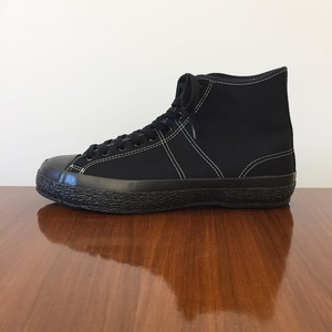 Phigvel Trainning Shoes Hi Black x Black Sole