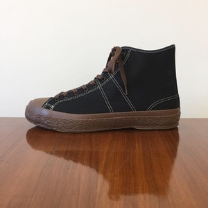 Phigvel Trainning Shoes Hi Black x Brown Sole