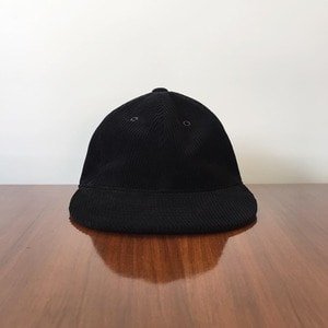 Rinse & Co Corduroy Ball Cap Black