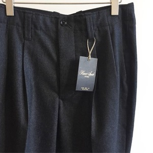 Haversack W/C Two Pleats Trousers Dark Grey (Women)