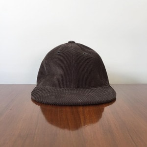 Rinse & Co Corduroy Ball Cap Brown