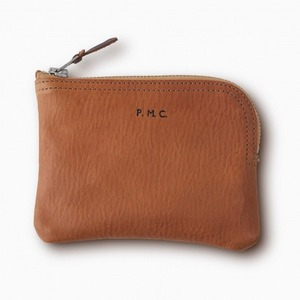 Phigvel Leather Purse (S) Camel