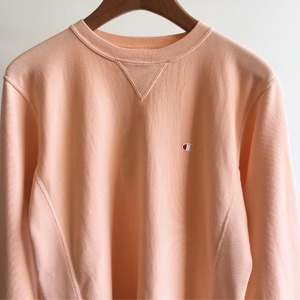 Champion Reverse Weave 10oz French Terry Crew Neck Sweat Salmon Pink