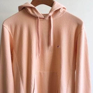 Champion Reverse Weave 10oz French Terry Pullover Hooded Sweatshirt Salmon Pink