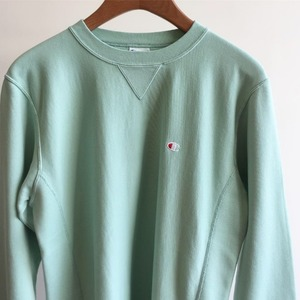 Champion Reverse Weave 10oz French Terry Crew Neck Sweat Lime