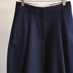 Studio Nicholson Dordoni Volume Pleat Pants Dark Navy (Women)