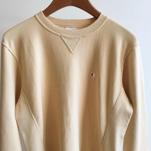 Champion Reverse Weave 10oz French Terry Crew Neck Sweat Beige