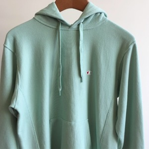 Champion Reverse Weave 10oz French Terry Pullover Hooded Sweatshirt Lime