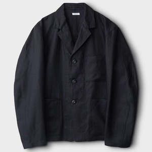 Phigvel Linen Sack Jacket Black