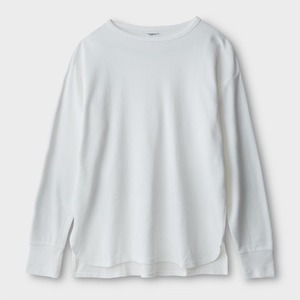 Phigvel Boat Neck Long Sleeve Top White