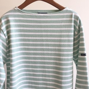 Saint James Guildo Stripe Roseau / Neige