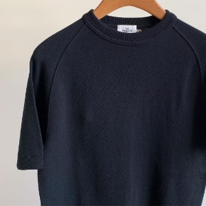 Haversack Eqipment Raglan Cotton Knit Shirts Black