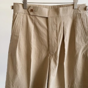 Haversack Silk C/N Over Pen Shorts Khaki