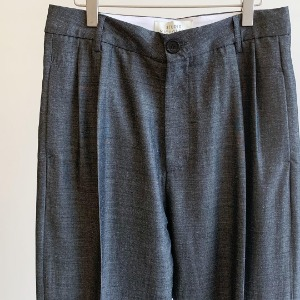 Studio Nicholson Jefferson Double Pleat Pants Slate Grey (Mens)