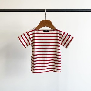 Saint James Levant Stripe S/S Neige / Persan (Toddler & Kid)