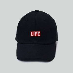 LIFE Archive Ball Cap Black