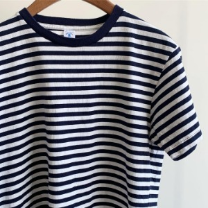 Velva Sheen Narrow Border T-Shirt