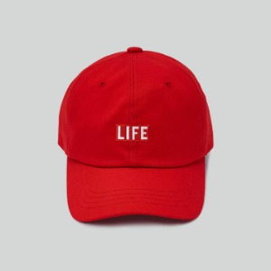 LIFE Archive Ball Cap Red