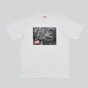 LIFE Archive Flight T-shirt White