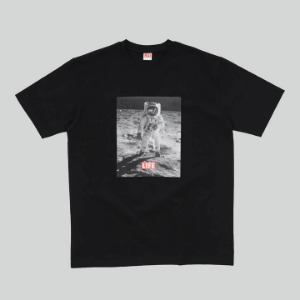 LIFE Archive Moon Landing T-shirt Black