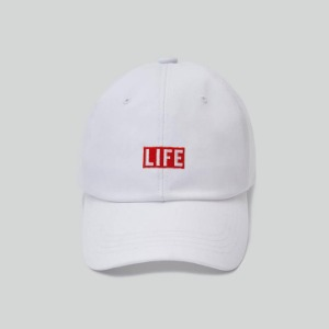 LIFE Archive Ball Cap White