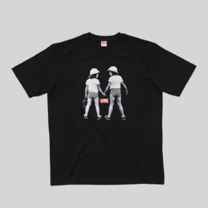 LIFE Archive Twins T-shirt Black