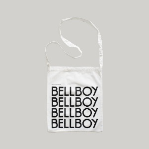 Bellboy Logo Sling Bag White