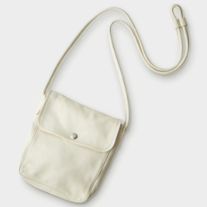 Phigvel Leather Pochette Ivory