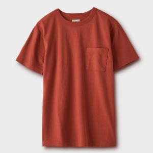 Phigvel Pocket Tee Brick Red