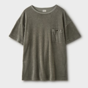 Phigvel Pile Boat Neck Top Sage Green