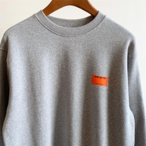 IDEAEND Double Tag Sweatshirt Grey
