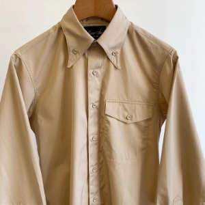 Haversack Button-Down Collar Typewriter Shirts Beige